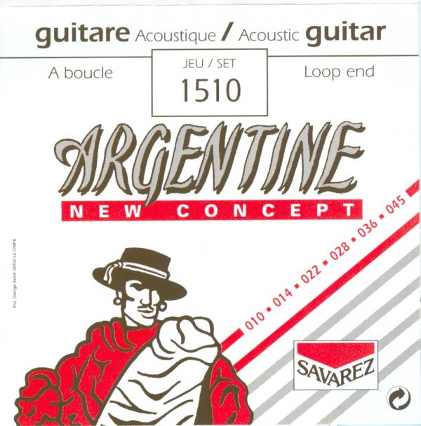 SAVAREZ ARGENTINE GYPSY JAZZ STRINGS 1510 - 10-45 LOOP END