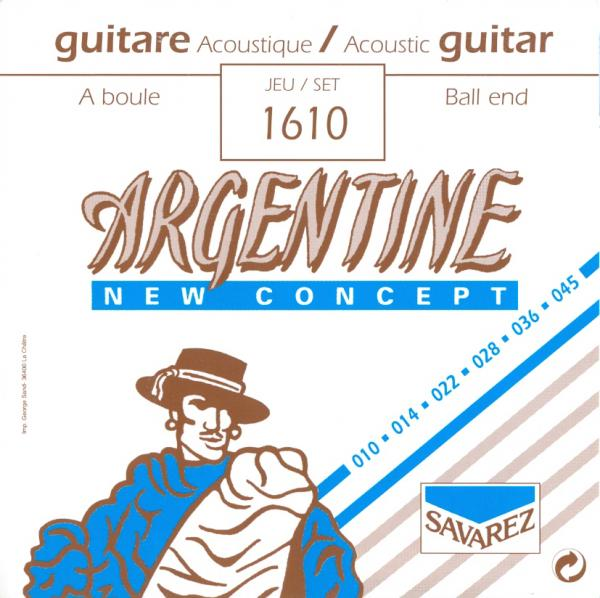SAVAREZ ARGENTINE GYPSY JAZZ STRINGS 1610 - 10-45 BALL END