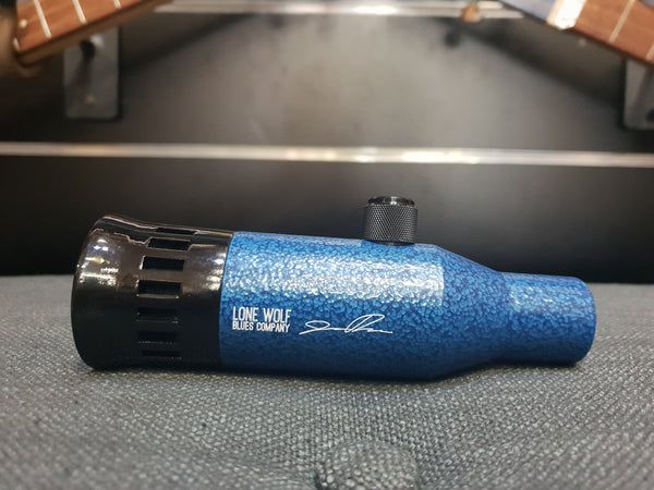 LONE WOLF BLUES COMPANY - JASON RICCI LTD BLUE HAMMERTONE MICROPHONE
