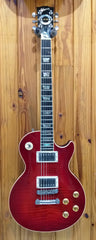 GIBSON CUSTOM SHOP LES PAUL ELEGANT FLAME TOP 1997 W/ OHSC PRE-LOVED