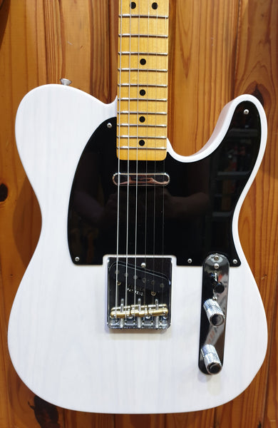 "FENDER CUSTOM SHOP ""BAD BROTHERS"" 1950 DOUBLE ESQUIRE  - WHITE BLONDE"