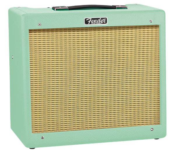 FENDER BLUES JUNIOR IV - SURF GREEN LIMITED EDITION