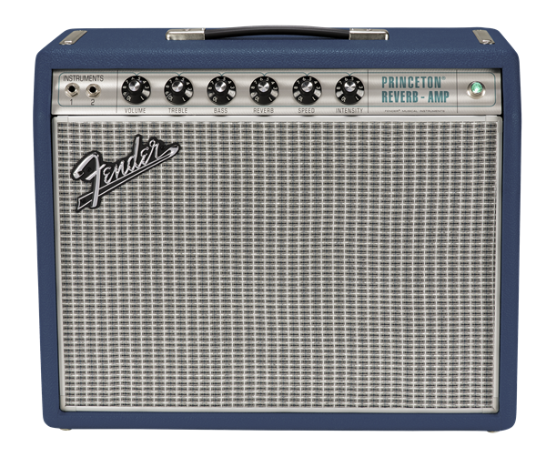 FENDER LIMITED EDITION '68 CUSTOM PRINCETON REVERB - NAVY