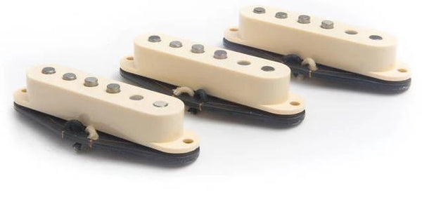 BARE KNUCKLE PICKUPS IRISH TOUR SINGLE COIL - SET CREAM