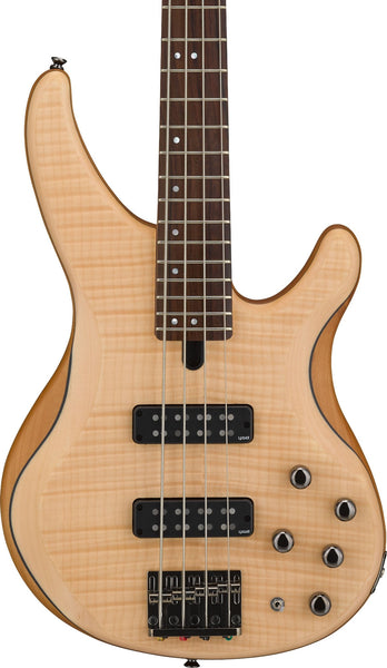 YAMAHA TRBX604FM BASS - NATURAL SATIN FLAMED MAPLE TOP 4-STRING