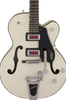 "GRETSCH G5410T ""RAT ROD"" HOLLOW BODY - MATTE VINTAGE WHITE"