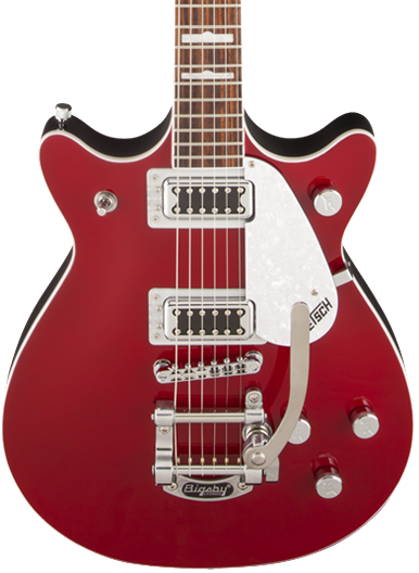 GRETSCH G5441T - DOUBLE JET FIREBIRD RED
