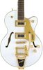 GRETSCH G5655TG JR. - LIMITED EDITION SNOW CREST WHITE
