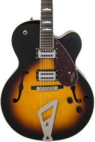 GRETSCH G2420 - SINGLE CUT STREAMLINER AGED BROOKLYN BURST