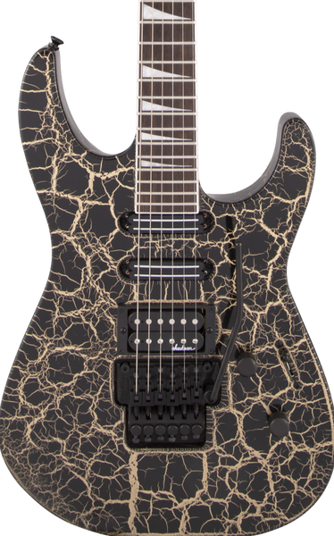 JACKSON X SERIES SOLOIST - SL3X DX GOLD CRACKLE