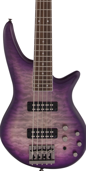 JACKSON  JS3QV SPECTRA 5-STRING BASS - PURPLE PHASE