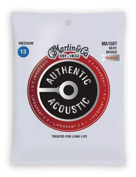 MARTIN AUTHENTIC ACOUSTIC LIFESPAN PHOSPHOR BRONZE - MEDIUM 13 - 56
