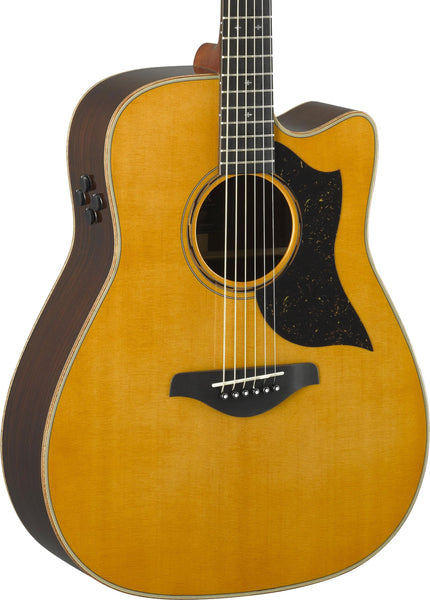 YAMAHA A5R ARE - DREADNOUGHT SOLID ROSEWOOD VINT. NATURAL