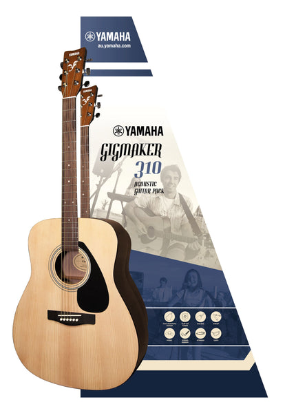 YAMAHA F310P - GIGMAKER ACOUSTIC GUITAR PACK