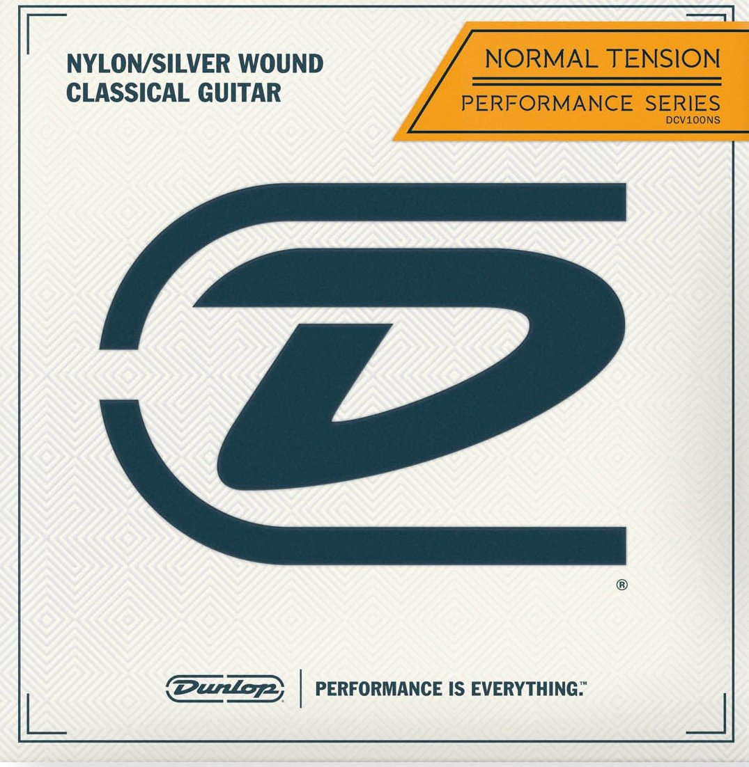 DUNLOP CLASSICAL CRYSTAL/SILVERWOUND PERFORMANCE - NORMAL TENSION