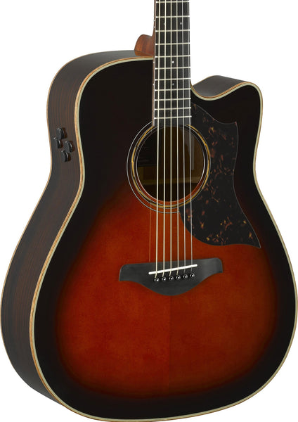 YAMAHA A3R ARE - DREADNOUGHT ALL SOLID ROSEWOOD - BROWN SUNBURST