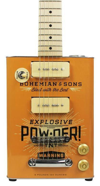 BOHEMIAN TNT - OIL CAN GUITAR P90