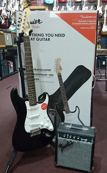 SQUIER AFFINITY SERIES STRATOCASTER PACK