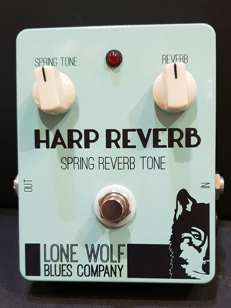 LONE WOLF BLUES COMPANY - HARP REVERB