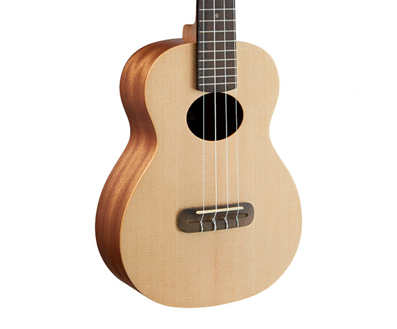 ANUENUE LUMI STAR S II CONCERT UKULELE WITH PICKUP & GIG BAG