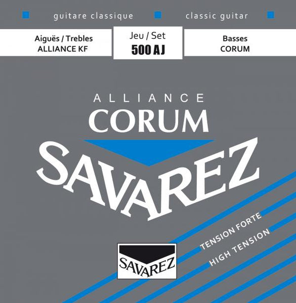 SAVAREZ 500AJ ALLIANCE CORUM NYLON STRINGS - HIGH TENSION