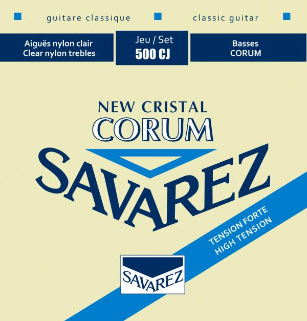 SAVAREZ 500CJ NEW CRISTAL CORUM NYLON STRINGS - HIGH TENSION