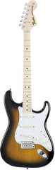 FENDER MIJ TRADITIONAL STRAT - MAPLE NECK 2 TONE SUNBURST