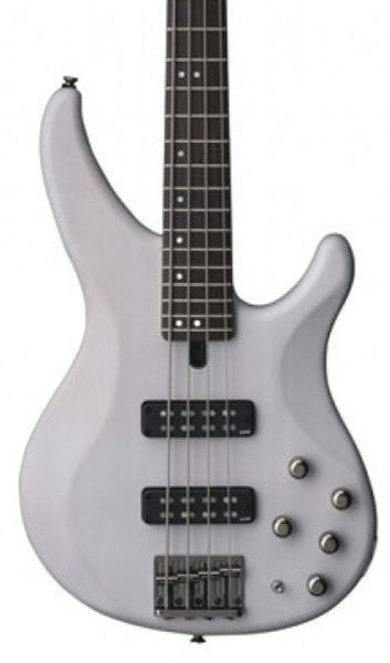 YAMAHA TRBX504 4-STRING BASS - TRANSLUCENT WHITE