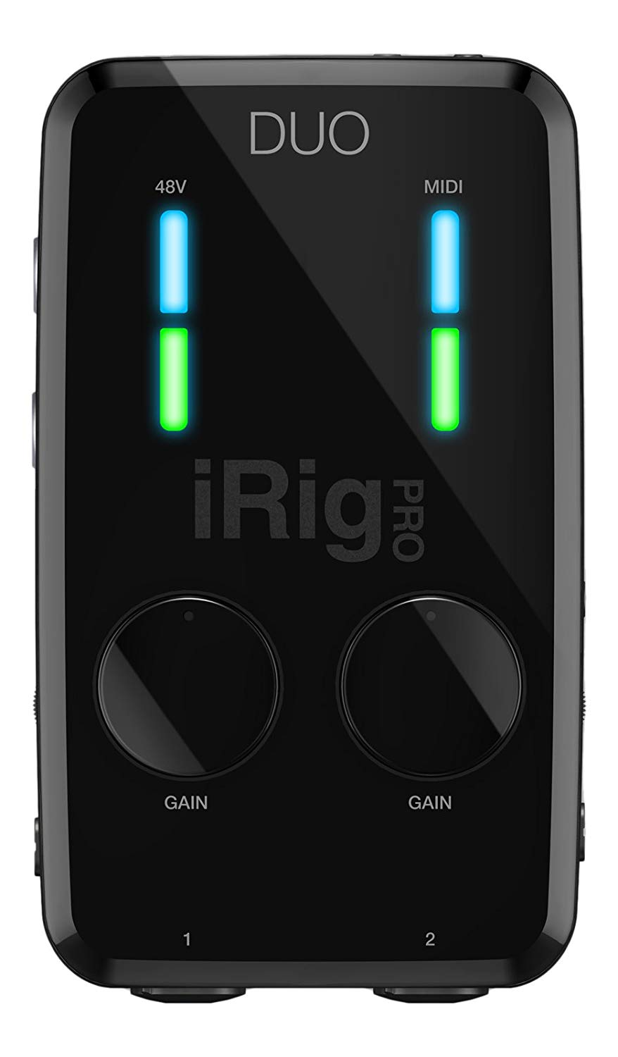 IK MULTIMEDIA iRIG PRO DUO  - 2 CHANNEL AUDIO/MIDI INTERFACE FOR MAC/PC