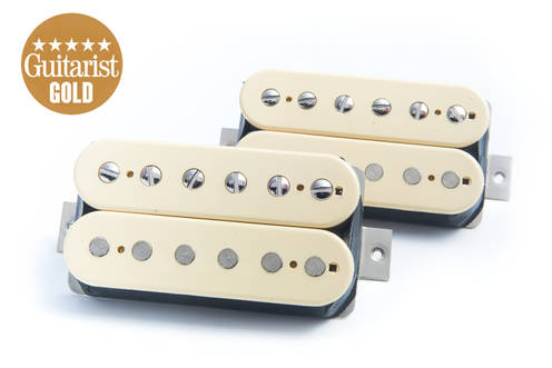 BARE KNUCKLE PICKUPS THE MULE HUMBUCKER SET - UNCOVERED CREAM