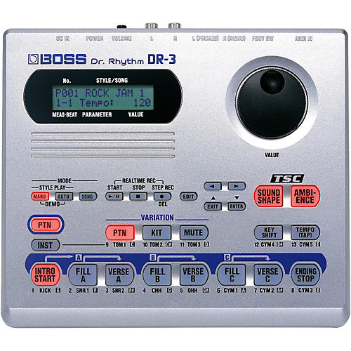BOSS DR-3 - DR RHYTHM DRUM MACHINE
