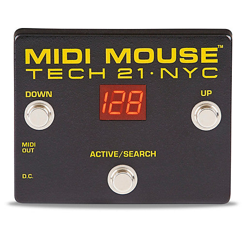 TECH 21 MIDI MOUSE - MIDI SWITCHER