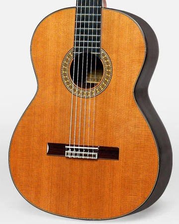 ESTEVE 7SRCD SOLID CEDAR / INDIAN ROSEWOOD SPANISH CLASSICAL GUITAR