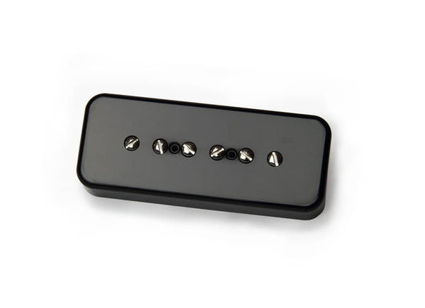 BARE KNUCKLE PICKUPS BOOT CAMP P90'S - TRUE GRIT SET - BLACK COVER