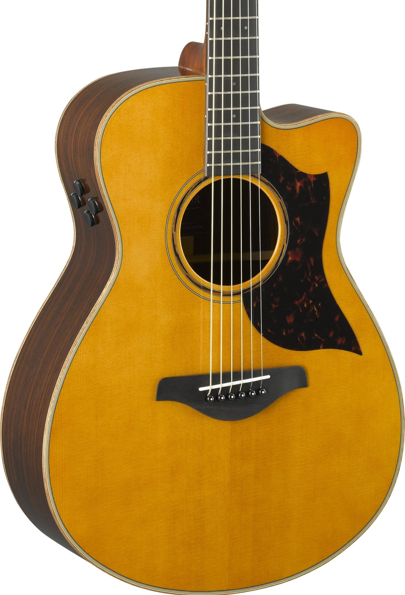 YAMAHA AC3R ARE - CONCERT CUTAWAY SOLID ROSEWOOD VINT. NATURAL
