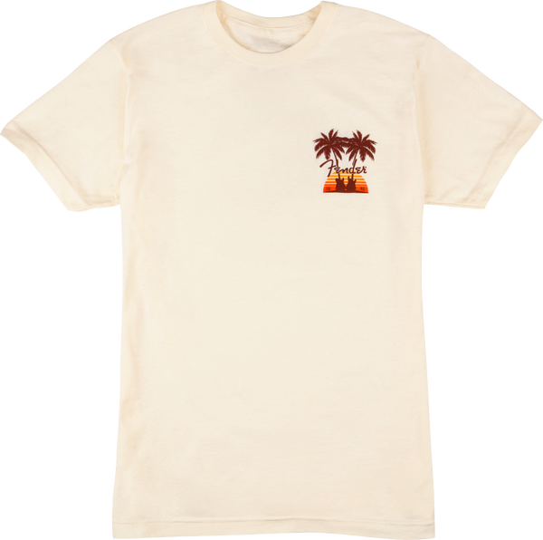 FENDER® TWIN PALMS T-SHIRT TAN - S/M/L/XL/XXL