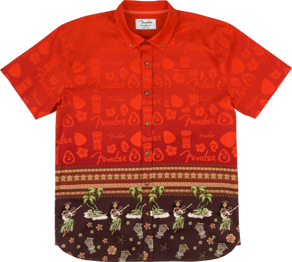 FENDER THE HAWAIIAN BUTTON UP SHIRT - S/M/L/XL/XXL