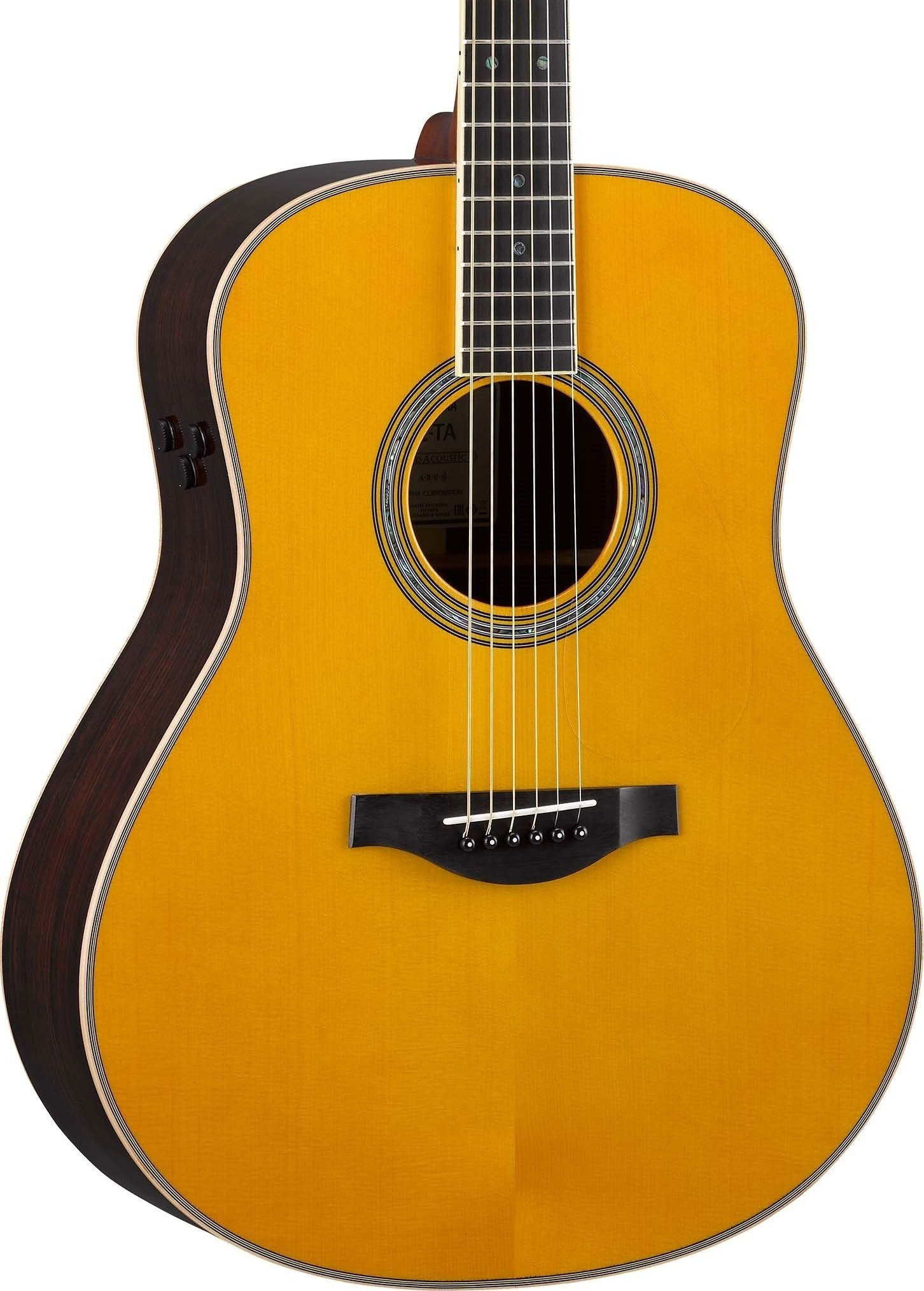 YAMAHA TRANSACOUSTIC - LL-TA DREADNOUGHT ALL SOLID VINTAGE TINT