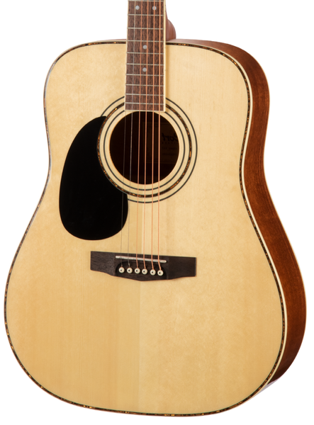 CORT AD880 - DREADNOUGHT SATIN NATURAL LEFT HAND