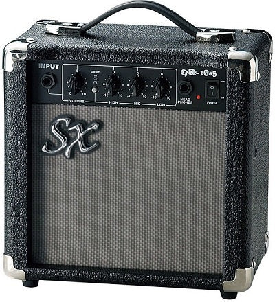 ESSEX 10W ELECTRIC GUITAR PRACTICE AMPLIFIER