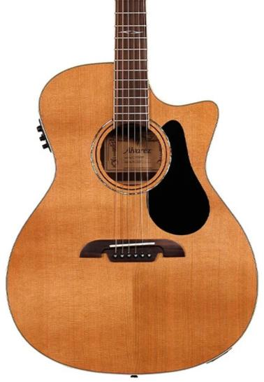 ALVAREZ AG75CE - SOLID WESTERN RED CEDAR TOP ACOUSTIC