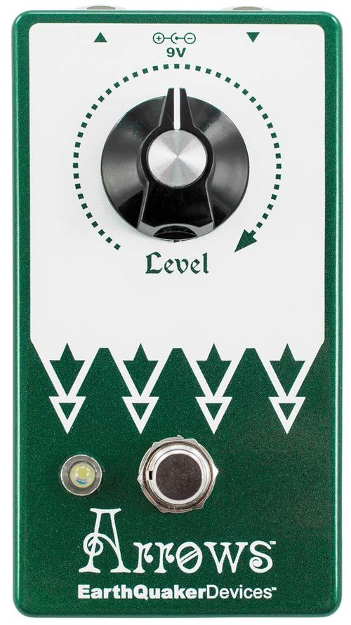 EARTHQUAKER DEVICES ARROWS - PREAMP BOOSTER