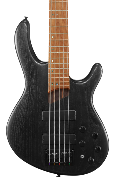 CORT B5 PLUS 5-STRING BASS - TRANS BLACK OPEN PORE