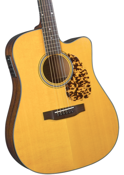 BLUERIDGE BR-140CE HISTORIC SERIES SOLID DREADNOUGHT ACOUSTIC