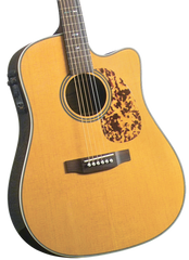 BLUERIDGE BR-160CE HISTORIC SERIES SOLID DREADNOUGHT ACOUSTIC