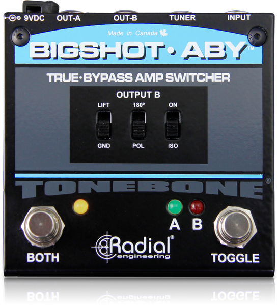 RADIAL TONEBONE BIGSHOT ABY - TRUE BYPASS AMP SWITCHER