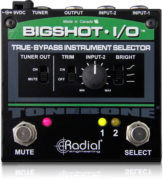 RADIAL BIGSHOT I/O - TRUE BYPASS INSTRUMENT SELECTOR