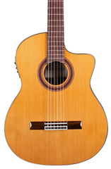 CORDOBA C7-CE - SOLID CEDAR TOP CLASSICAL WITH PICKUP