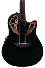 OVATION CE44-5 CELEBRITY ELITE MID DEPTH - BLACK