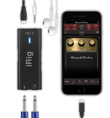 IK MULTIMEDIA iRIG HD 2 - DIGITAL GUITAR INTERFACE iOS/USB